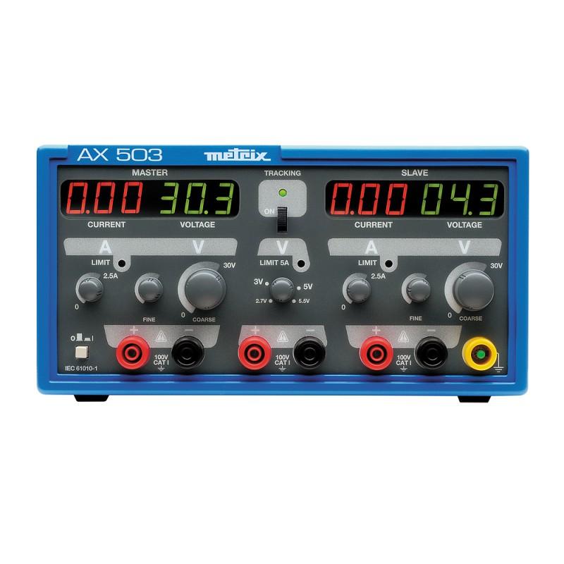 AX 503 (2x30V + 1x5,5V)