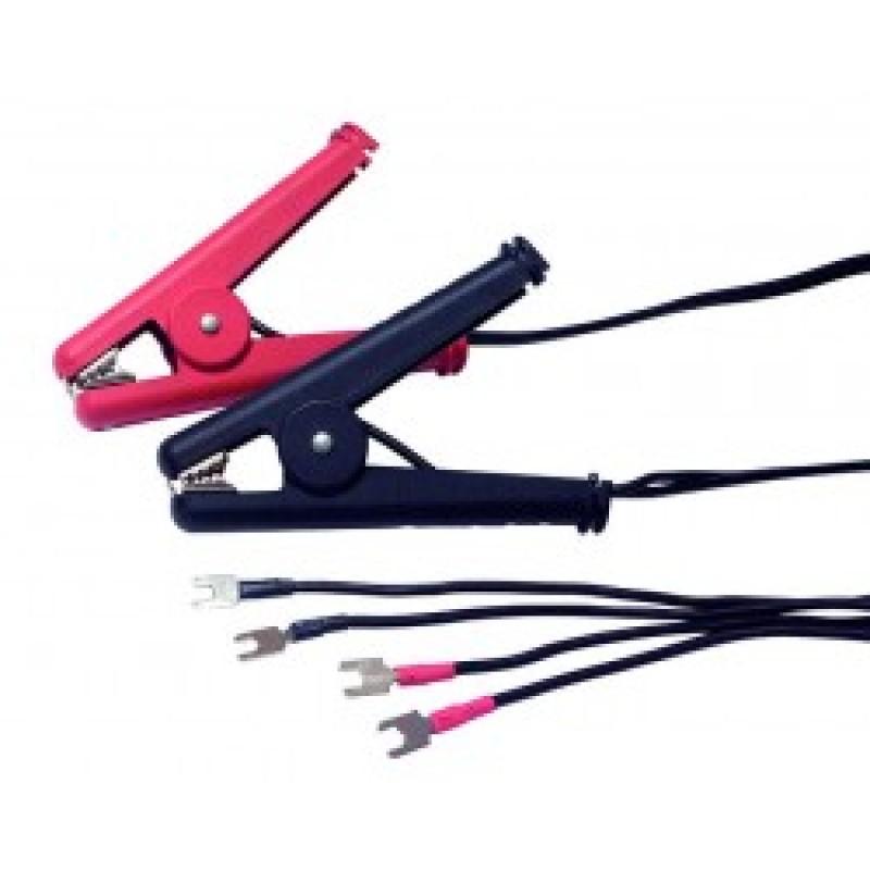 Kabel mit Kelvinklemmen 10A (2 Stk)