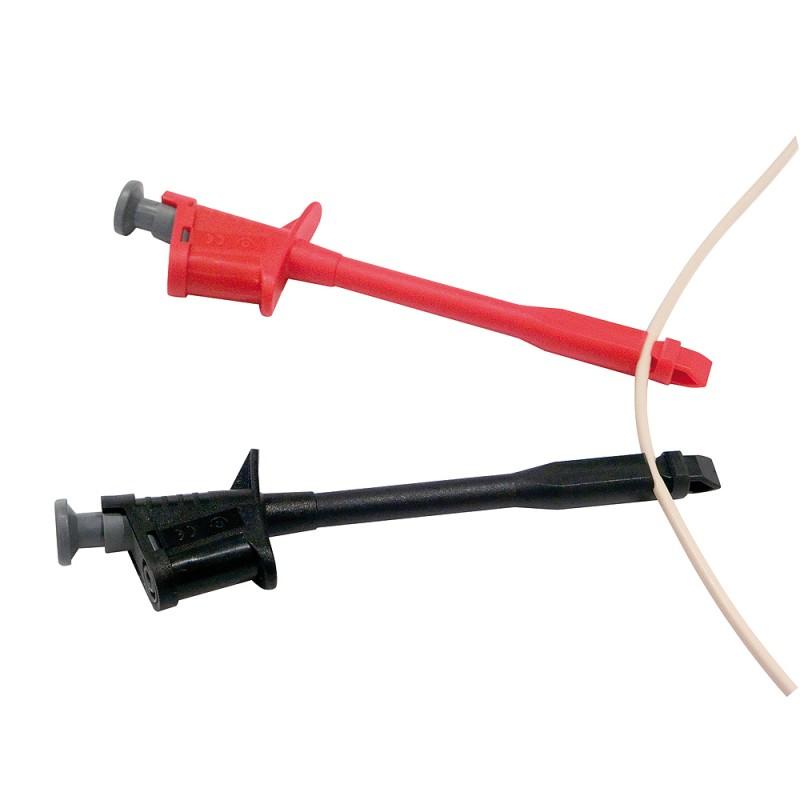 Abgreifer (Einstech-Nadel ), rot, sw, SELV