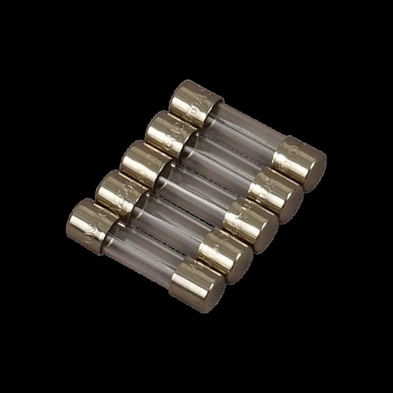 Satz von 5 Sicherungen T 15 A, 250 V, 5x20 mm
